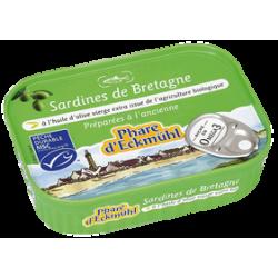 Sardines hv oliv.