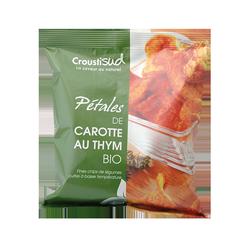 Petales de carotte au thym