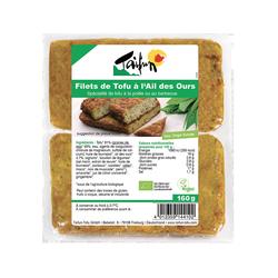 Filets de tofu a l'ail des our