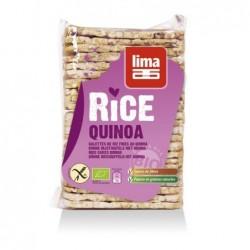 Galettes fines de riz- quinoa