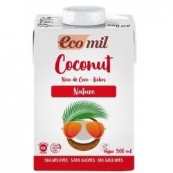 Lait coco sans sucre