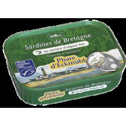 Sardine tartare d'algue