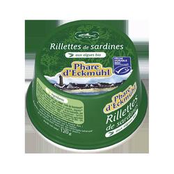 Rillette sardine algues