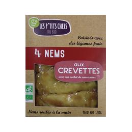 Nems aux crevettes x 4