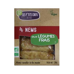 Nems aux legumes x 4