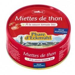 Miettes de thon tomate bio