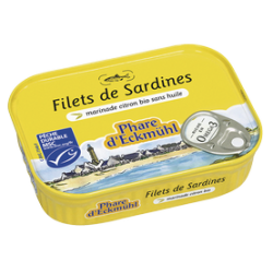Filets sardine citron