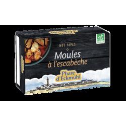 Moules escabeche pek
