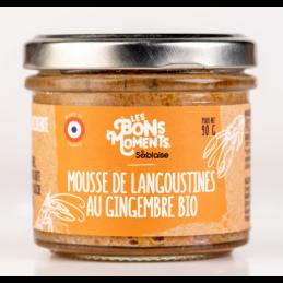 Mousse de langoustine au ginge