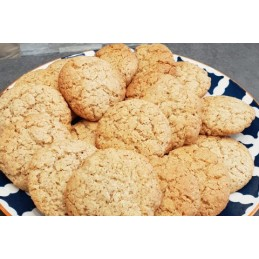 Biscuit amande citron avoine