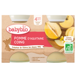 Pack petit-pot pomme coing