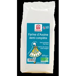 Farine d'avoine demi-complete