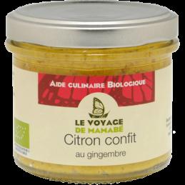 Citron confit au gingembre