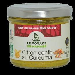 Citron confit au curcuma