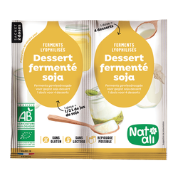 Ferment dessert soja