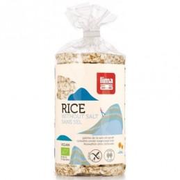 Galettes de riz pauvre en sel