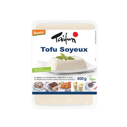 Tofu soyeux 400g t.