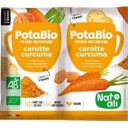 Potabio carotte curcuma (2x8.5