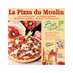 Pizza legumes grilles/gorgonzo