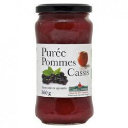 Puree pomme cassis ct
