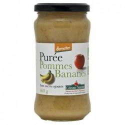 Puree de pommes bananes