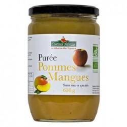 Puree de pomme-mangue