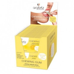 Chewing gum argil citron