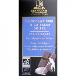 Chocolat noir fleur sel