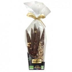 Bouquet de chocolat noir a pos