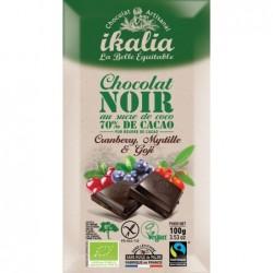 Tabeltte chocolat noir 70% cac