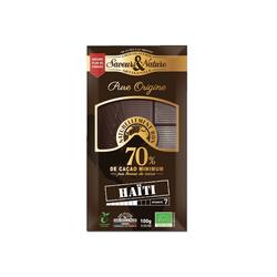 Tablette chocolat 70% haiti