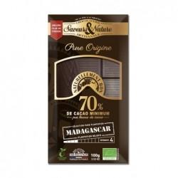 Noir 70% madasgascar