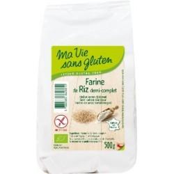 Farine de riz demi-complete...