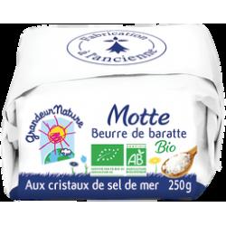 Beurre baratte sel mer