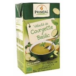 Veloute courgette & basilic