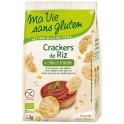 Crackers riz huile olive