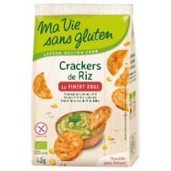 Crackers piment doux