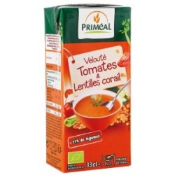 Veloute tomates & lentilles co