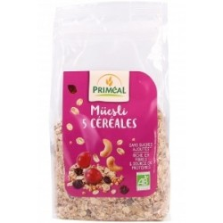 Muesli 5 cereales de base