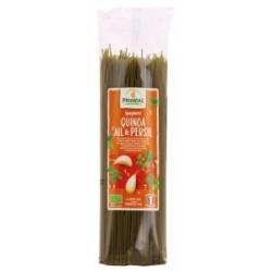 Spaghetti quinoa  ail et...