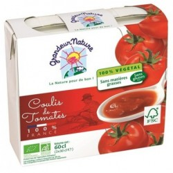 Pack coulis de tomate