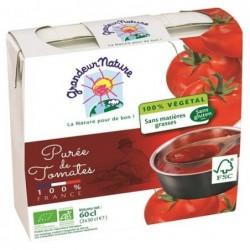 Pack puree de tomates origine