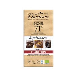 Chocolat noir cuisine 71%