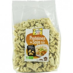 Proteines de soja gros