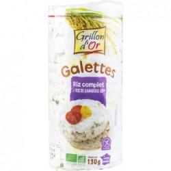 Galettes au riz complet