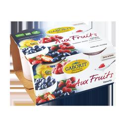 Yaourts aux fruits fraise...