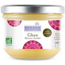 Ghee. beurre clarifie sans lac