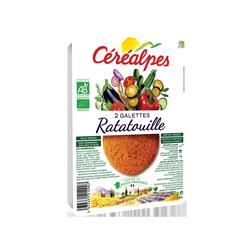 Galettes de cereales ratatouil