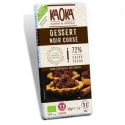 Tablette noir dessert 72%...