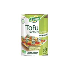 Tofu lactofermente ail des our
